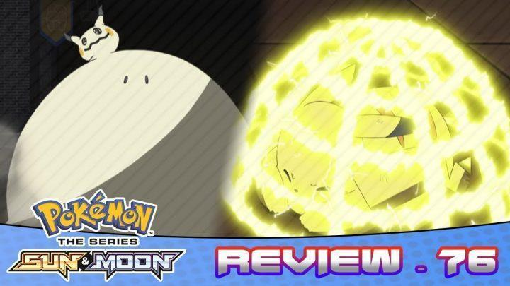 Ash's Pikachu Learns Electroweb! Mimikyu Z Move!   Pokemon Sun And Moon Anime Episode 76 Review
