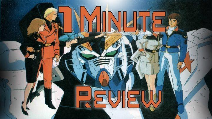 1 Minute Anime Review Gundamthon: Mobile Suit Gundam: Char's Counterattack