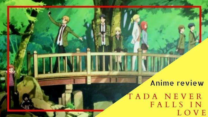 Tada never falls in love anime review