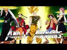 《AMV》Anime 3D Dragon Ball and Naruto and Bleach