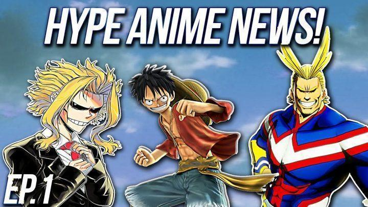 THIS WEEKS ANIME NEWS IN 5 MIUTES!! – (Jump Force, My Hero One's Justice, All For One VS All Might)
