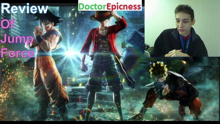 Review Of Jump Force (An Epic Anime Fighting Game For The PS4, Xbox One, And PC)