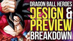Dragon Ball Heroes Anime Preview Animation & Design Breakdown
