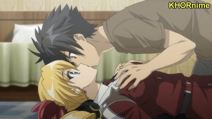 THE FUNNIEST ANIME KISS MOMENTS EVER!   Funny Kissing Compilation #2   アニメのキスシーン集