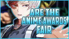Are the Crunchyroll Anime Awards Fair ?