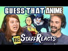 GUESS THAT ANIME CHALLENGE! (ft. FBE STAFF)