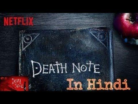 DEATH NOTE | HINDI DUBBED Trailer | Anime | 2018 Netflix | death God | Light | hindi Trailers | top