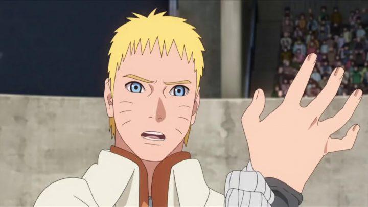 Boruto cought cheating on the Chunin Exam! Ep 61