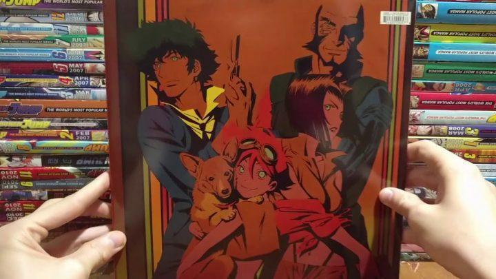 Cowboy Bebop Funimation Exclusive Edition DVD/Blu-Ray (2014) Unboxing