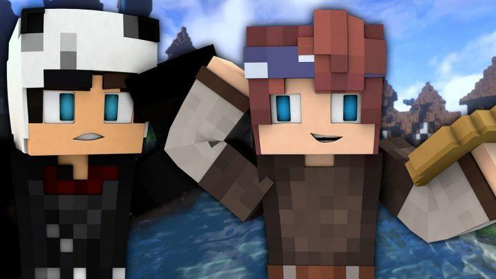 THE CURSED MAN   Grimgar of Fantasy and Ash   EP 1 (ANIME Minecraft Roleplay)
