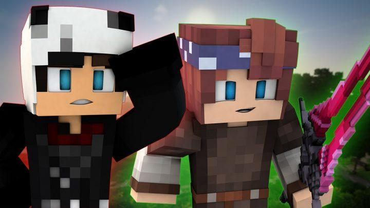 OUR FIRST QUEST!   Minecraft GRIMGAR OF FANTASY AND ASH   EP 2 (ANIME Minecraft Roleplay)