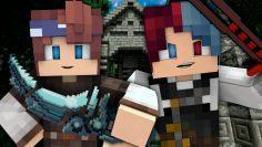 HUNTING DEMONS!   Grimgar of Fantasy and Ash   EP 3 (ANIME Minecraft Roleplay)