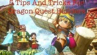 5 Tips and Tricks For Dragon Quest Builders