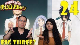My Hero Academia Season 3 Episode 24 Reaction and Review! THE BIG 3   THANK FOR 20,000 SUBSCRIBERS!