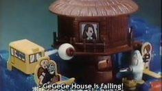 GeGeGe no Kitaro – GeGeGe Panic Tabletop Game Commercial (Summer, 1986) w/ English Subs