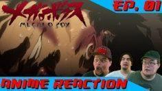 BRUTAL   Anime Reaction: Megalo Box Ep. 01
