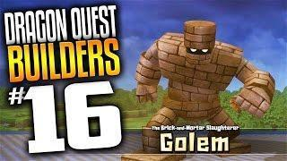 Dragon Quest Builders Gameplay – Ep 16 – Boss Fight Golem (Lets Play Dragon Quest Builders