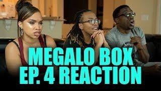 The Gearless One! Megalo Box Ep. 4 Reaction