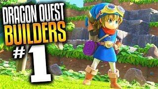 Dragon Quest Builders Gameplay – Ep 1 – Dragon Quest Minecraft (Lets Play Dragon Quest Builders