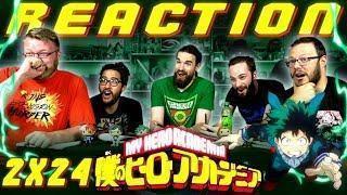 """My Hero Academia [English Dub] 2×24 REACTION!! """"Katsuki Bakugo: Origin"""""""