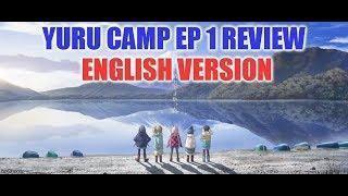 Yuru Camp Anime Review (ENGLISH VERSION)  EP 1