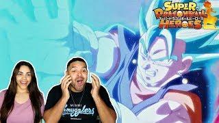 VEGITO BLUE KAIOKEN VS CUMBER! Dragon Ball Heroes Episode 3 REACTION!!!