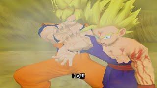 Dragon Ball Z Budokai Walkthrough Part 8 – SSJ2 Gohan vs Super Perfect Cell Ending (PCSX2 + Sweetfx)