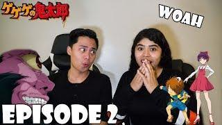GeGeGe No Kitaro 2018 Episode 2 Reaction (ゲゲゲの鬼太郎) KITARO VS MIAGE NYUDO! CATCHICK IS SO SAVAGE BRO!