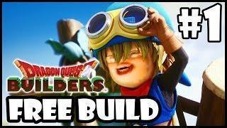 Dragon Quest Builders: Free Build Mode #1 [Medieval City]
