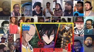 Saitama Vs. All: One Punch Man #4 Reaction Mashup | Anime Fight Time