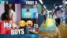 Free! 3rd Season Episode 1 Reaction
