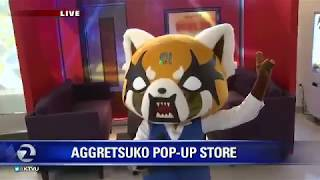 Aggretsuko Pop-up in San Francisco – Elissa Harrington Reports