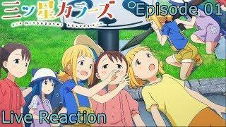 Mitsuboshi Colors Episode 1 Live Reaction