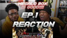 MEGALOBOX IS SLEEPED ON !!!!! Reaction Episode 1.