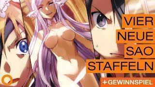 Große Sword Art Online Ankündigung│Tokyo Ghoul Fortsetzung│Death Note News – Ninotaku Anime News 152