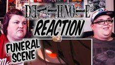 Death Note Deleted Funeral Scene REACTION!!!!