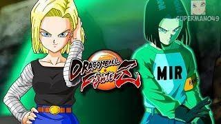 "ABSOLUTELY INSANE DAMAGE WITH THE ANDROIDS! – Dragon Ball FighterZ: ""Android 17"" Gameplay"