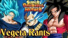 """VEGETA DOES NOT APPROVE OF """"DRAGON BALL HEROES"""""""