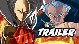 One Punch Man Season 2 Trailer – Saitama vs Garou Ultimate Fight