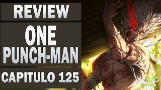ONE PUNCH MAN Review Capitulo 125 ! Blast é Real! Bang e Bomb Vs Garou !