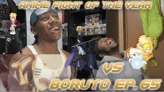 Sasuke & Naruto & Boruto VS Momoshiki ANIME FIGHT OF THE YEAR- REACTION
