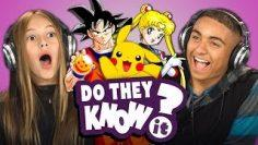 DO TEENS KNOW 90s ANIME? (REACT: Do They Know It?)