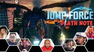 Reactors Reactions To Death Note Coming To The PvP Fighting Game Jump Force