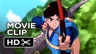 Princess Mononoke Movie CLIP – Calm Your Fury (2014) – Studio Ghibli Blu-Ray Release Movie HD