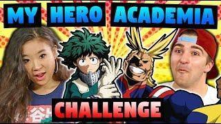 MY HERO ACADEMIA (Anime Challenge!)