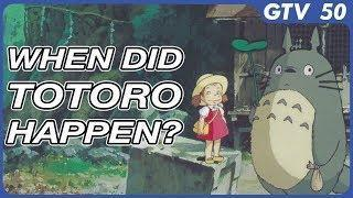 Clues In My Neighbor Totoro Show Exactly When The Movie Happened! Only In Japan – GTV