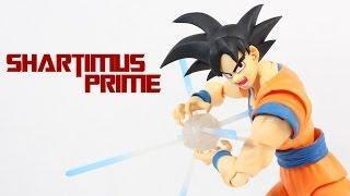 SH Figuarts Son Goku Dragon Ball Z Bandai Tamashii Nations Action Figure Review