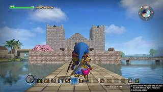 Dragon quest builders castle and village