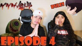 GeGeGe No Kitaro 2018 Episode 4 Reaction (ゲゲゲの鬼太郎) THE RULES OF GEGEGE FOREST! YAMAJIJII RAGE!