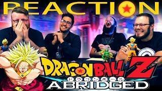 DragonBall Z Abridged Movie: BROLY REACTION!! TeamFourStar